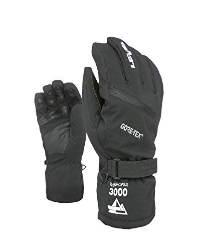Level Herren Evolution Gore-Tex Handschuhe, Black, 8,5