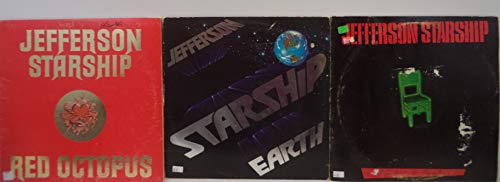 Jefferson Starship Lot of 3 Vinyl Record Albums Nuclear Furniture and more