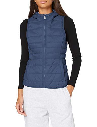 Only ONLNEWTAHOE Contrast Waistcoat CC OTW Abrigo, Vintage Indigo, XS para Mujer