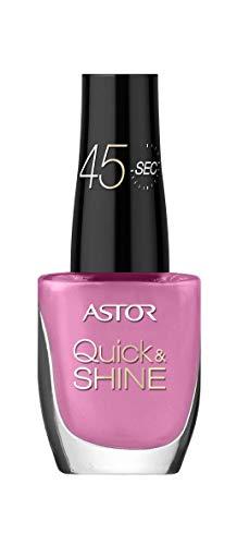 Astor Quick & Shine Nagellack schnelltrocknend und mit Hochglanz-Finish, Farbe 540 Pinky-licious...