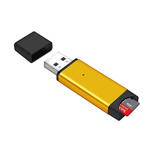 Memwah Micro SD-kaartlezer - Snelle USB 2.0-adapter voor alle MicroSD-kaarten