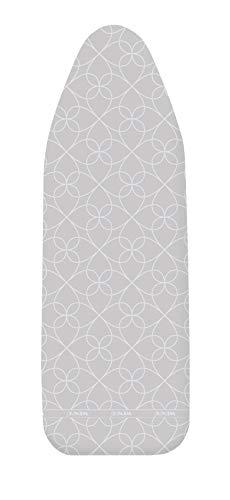 Wenko Funda para Tabla de Planchar XL/Universal, con Revestimiento de Aluminio, Acolchado de Espuma, Easy-Clip, algodón, Multicolor