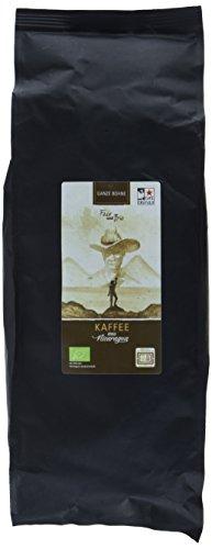 Chavalo Cafe de Nicaragua ganze Bohne Bio Kaffee, 1er Pack (1 x 1 kg)