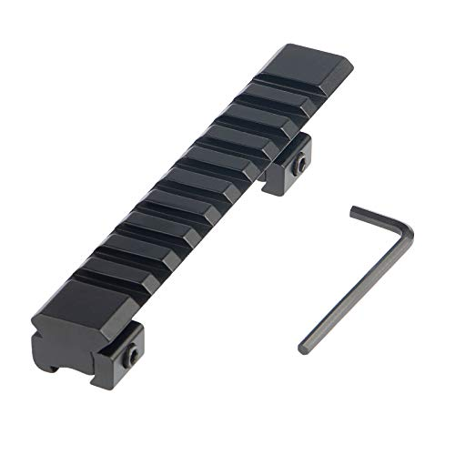 FOCUHUNTER Aluminium Taktisch Leuchtpunktvisier 11mm to 20mm Weaver/Picatinny Zielfernrohrmontagen Adapter für Airsoft, Zielfernrohr, Jagdpistole