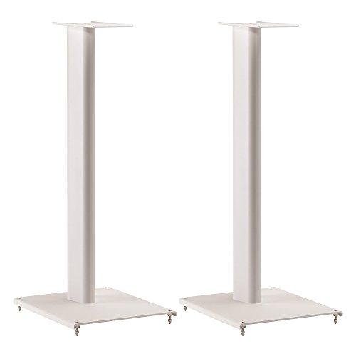 Q. Acoustics QA3108 Base di altoparlante per tutti dispositivi, Bianco, 2 pezzi