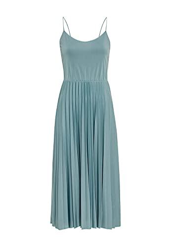 HALLHUBER Midilanges Plisseekleid aus Jersey ausgestellter Schnitt Aqua, XS