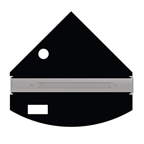 iQuatics Universal-/Juwel kompatibles Ersatzklappen Set mit Skimmer/Feeder Loch, Trigon 190