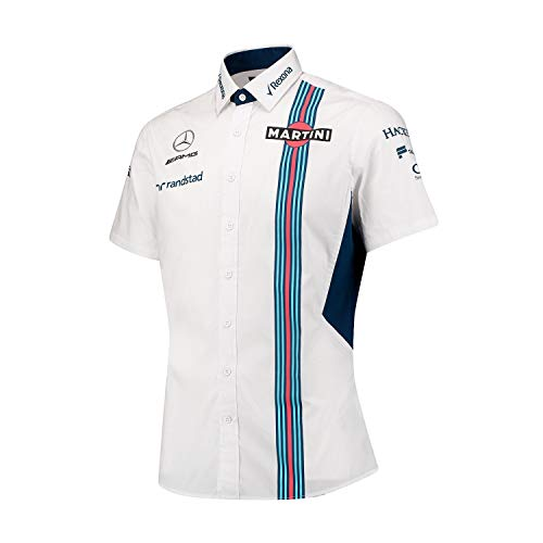 Williams Martini Racing Men 's Team Manga Corta Camiseta, Multi Color, Extra-Small