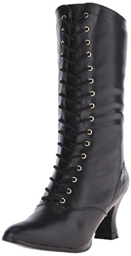 Pleaser Vic120/B/Pu, Bottes Classiques Femme, Noir (Black), 38 EU