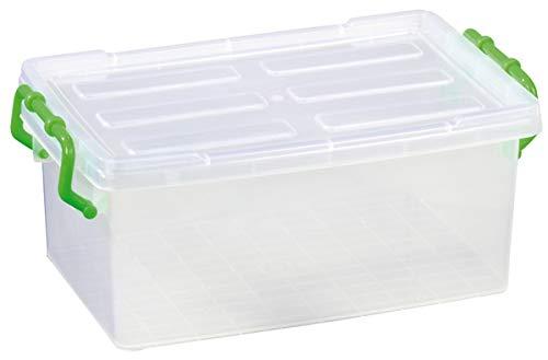 Betzold Materialboxen - Aufbewahrungsbox mit Deckel 32 x 20 x 13 cm - Materialbox Ordnungshelfer