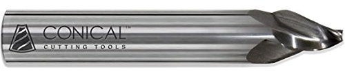 Conical Tool Company R-001C 25.0° Carbide 3 supreme Selling End - Mill F Tapered