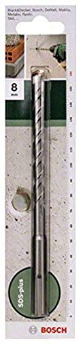 Bosch 2609255513 160mm SDS-Plus Hammer Drill Bit with Diameter 8mm