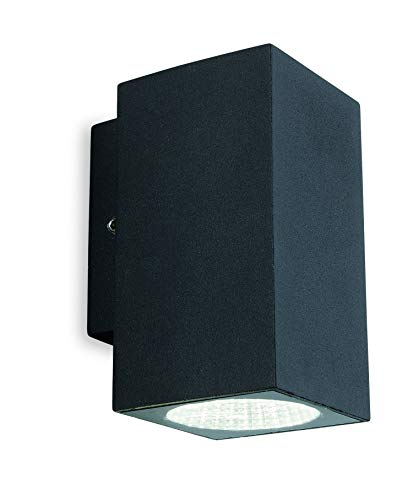 Firstlight Dino LED-wandlamp, grafiet