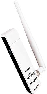 تي بي لينك TL-WN722N محول يو اس بي لاسلكي عالي الكسب 150 ميجابت/ثانية - أبيض