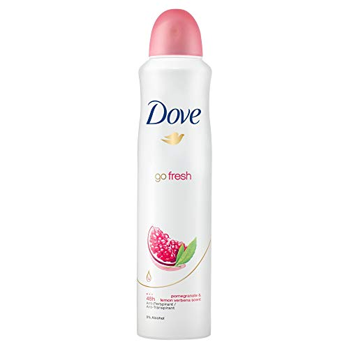 Dove Go Fresh Aerosol Anti Perspirant Deodorant, Pomegranate, 250ml