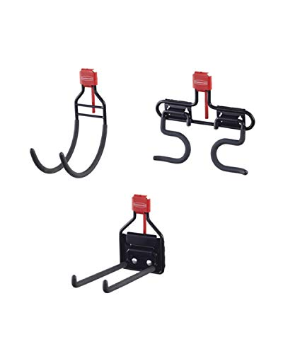 Rubbermaid Shed Hook Accessory Kit, Long Lasting, Multi-Purpose Hook Kit for Rubbermaid Sheds