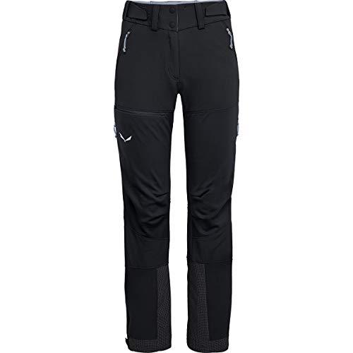 Salewa Ortles 2 WS/DST W Sho PNT Pantalon pour Femme M Black Out