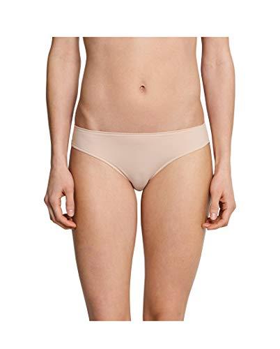 Schiesser - Bikini - Uni - Femme - Beige - 46