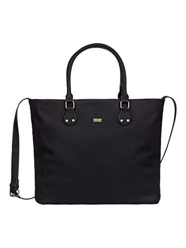 Roxy THINK HAPPY Bolso shopping femmes Negro Bolso shopping