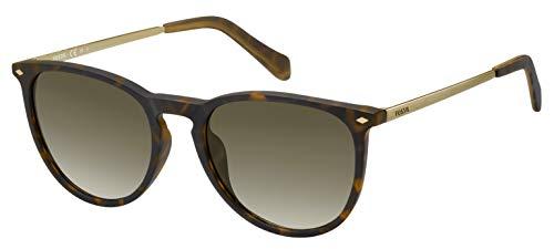 Fossil womens Fos3078s Sunglasses, Dark Havana, 53 mm US