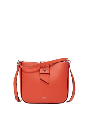 s.Oliver Damen 39.002.94.5818 Tasche Schultertasche Orange (Orange)