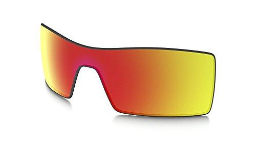 Oakley vasos Oil Rig original Discos de repuesto para gafas de sol 16-700 RUBY IRIDIUM