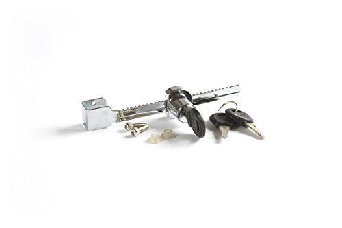 RepTech Cerradura delantera deslizante para terrario, 3 llaves