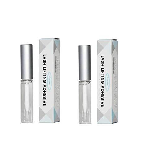 Lomansa - Adhesivo para fijación y elevación de pestañas, 5 ml, 2 unidades