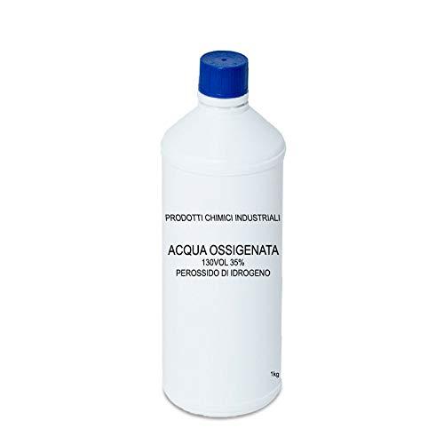 Perossido Di Idrogeno 35% 130 Volumi 1 LT - Prodotto Professionale, FLACONE
