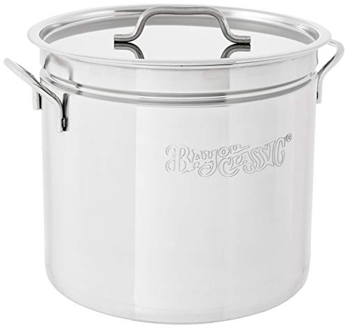 Bayou Classic  1024 Stainless Steel Stockpot, 24 qt.