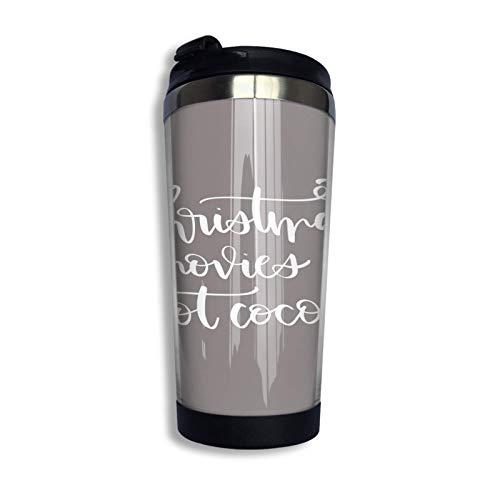 XCNGG Artemis Taza de viaje Taza de café Vaso aislado al vacío de acero inoxidable 13.5 oz