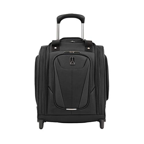 Travelpro Maxlite 5 Carry-on Cabin Underseat Softside Luggage 2 Wheels 37x44x22 cm Ultra-Lightweight and Durable 26 Litres Travel Luggage 5 Years Warranty