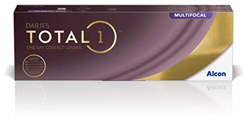 Alcon Dailies Total 1 Multifocal Tageslinsen weich, 30 Stück / BC 8.6 mm / DIA 14.1 mm / ADD LOW / -3 Dioptrien