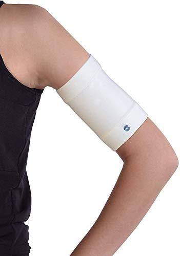 Dia-Band, Glucose Sensor Schutz Armband Freestyle Libre, Medtronic, Dexcom oder Omnipod – Komfortabel wiederverwendbares Diabetikband.(M (27-31 cm)