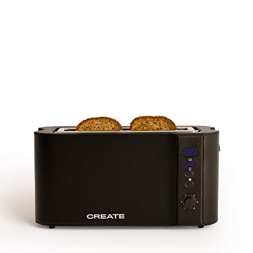 IKOHS Create Toast Advance Pro - Tostadora eléctrica con Pantalla Digital (Negro...