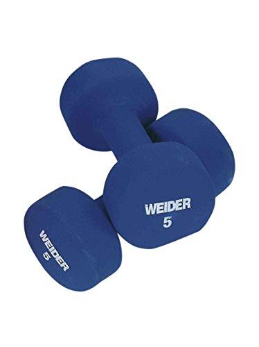 Weider Peso 5 kg Blu