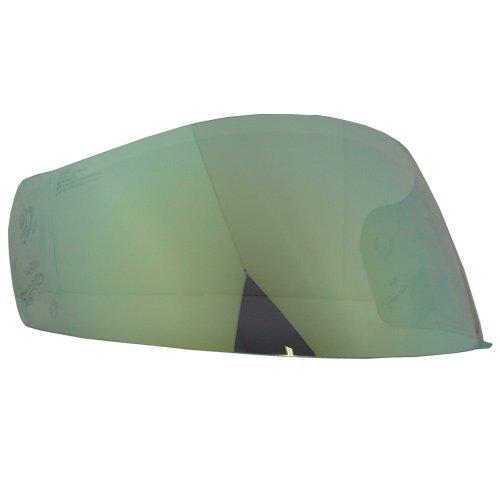 Hjc Helmets Hj-07 Shield/Visière Or, Argent, Bleu, fumée, clair, pour Cl-14, Fg-14, Cl-max, AC-11, casque de moto Bike Racing Accessoires – fabriqué en Corée (Or)