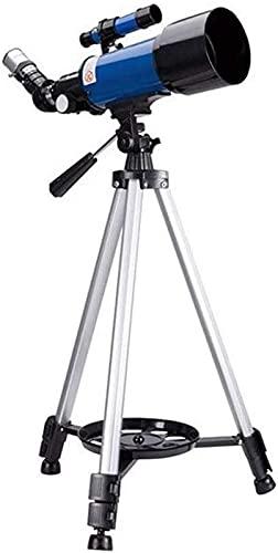 Telescopio rifrattore aggiornato al 2021, telescopio per bambini principianti, telescopio astronomico con apertura da 70 mm e 400 mm, telescopio da viaggio portatile per adulti con zaino, miglior rega
