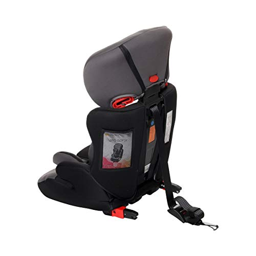 Osann Lupo Isofix Kindersitz Gruppe 1/2/3 (9-36 kg) Kinderautositz Nero