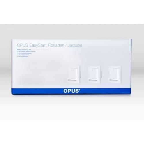 OPUS® EasyStart Jalousie - Zentrale Rollladensteuerung polarweiß