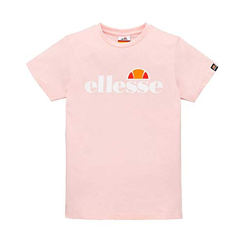 ellesse Heritage Nicky Youth Kids Girls Cropped Top T-Shirt Tee White