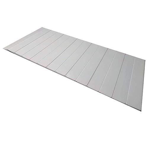 Badkuip, stofdicht, opvouwbare isolatiehoes, badstandaard, 1,2 cm dik 180x80x1.2cm Kleur: wit