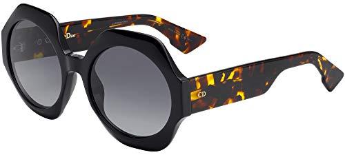 Christian Dior DIORSPIRIT1 2K Gafas, BLACK/BW BROWN, 58 Mujeres