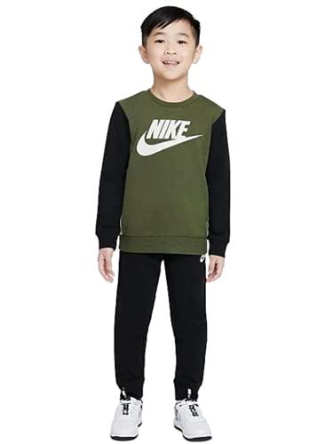 Nike Conjunto para bebé., Negro Verde Oliva, 6-7 años