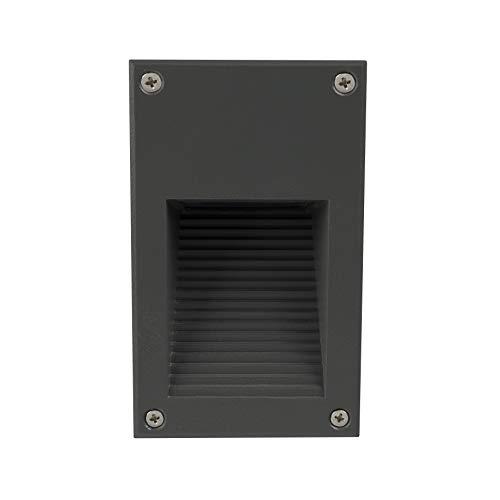 LEDKIA LIGHTING Cooper LED trapverlichting met grijze afwerking Koel wit 6000K