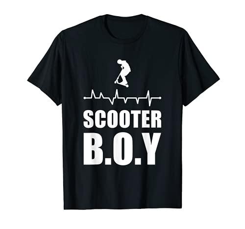 Stunt Scooter Boy Kick Scooter Jump Tretroller Camiseta