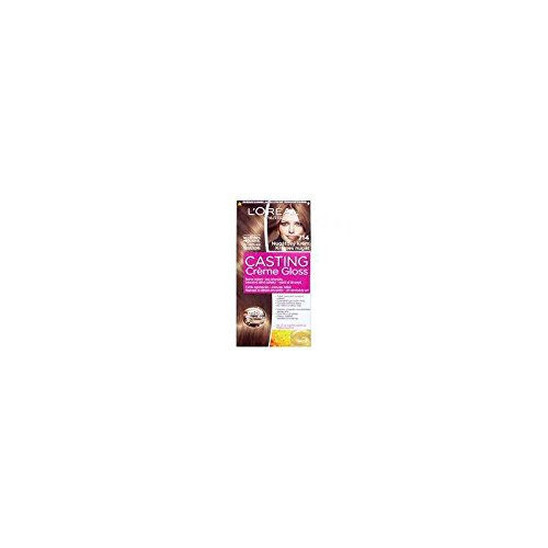 L'Oréal Casting Creme Gloss Coloration 7.14 Choco Lollipop, 1 St (1er Pack)
