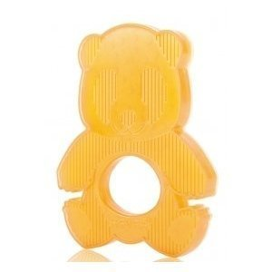 100% Natural Rubber Phthalate And BPA Free Hevea Panda Teether - Safe And Clean For Toddler Use by BBY4ALL