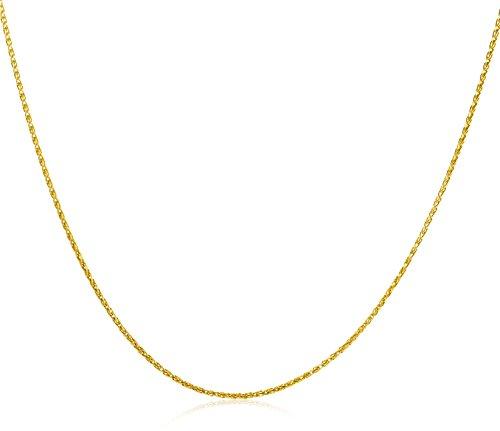 Miore Cadena de mujer con oro de 9 k (375), sin gema, 45 cm