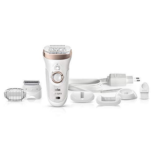 Braun Silk-épil 9 9-561 - seco & húmedo, sin cable, con 6 accesorios, incluido un cabezal de afeitado y un...